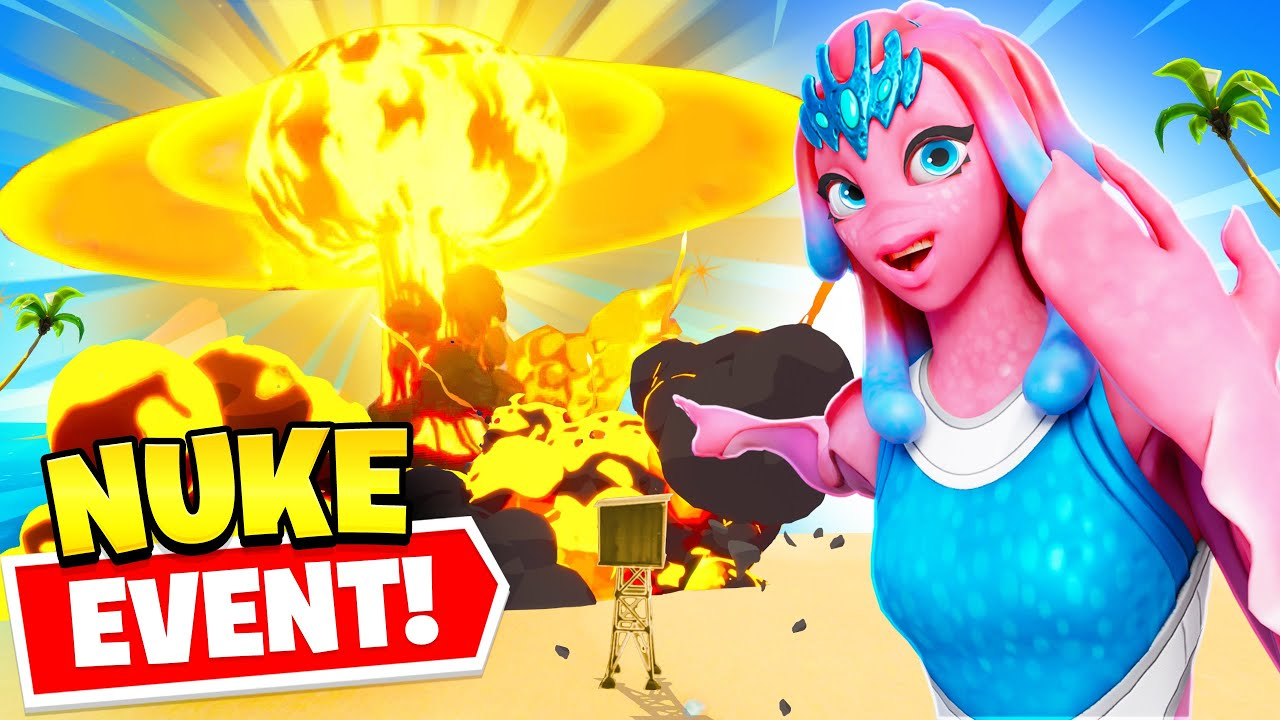 *NEW* NUKE EVENT in Fortnite is CRAZY! (BIG SECRETS)
