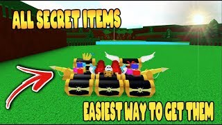 *EASIEST* WAY to get ALL the CHESTS in Build a Boat for Treasure ROBLOX