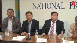 пресс-конференция общественных деятелей с обращением к президенту РК. 24.04.2013