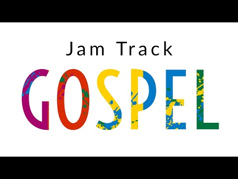 Gospel Guitar Backing Track Jam in C