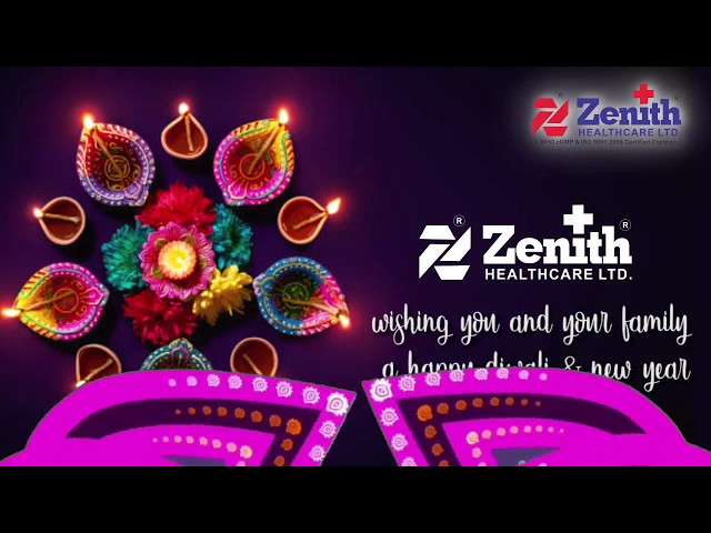 Zenith Healthcare Limited Diwali Greetings