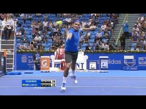Gillette Federer Tour, Brazil 12/6