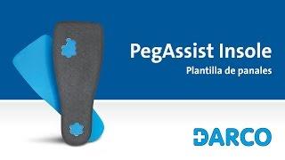 PegAssist® Insole Plantilla de descargas selectivas