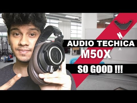 AudioTechnica ATH-M50X  | 6 Months Review And Accessories! | India