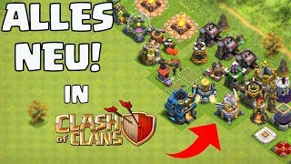 ALLES NEU IN CLASH OF CLANS!