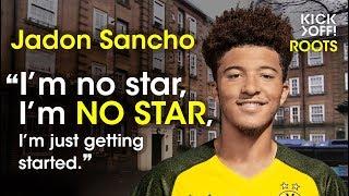 Jadon Sancho -  the next Lionel Messi! Roots Jadon Sancho