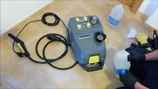 Unboxing de SG 4/4  Karcher- steam cleaner Karcher SG 4/4; Vaporeta Industrial