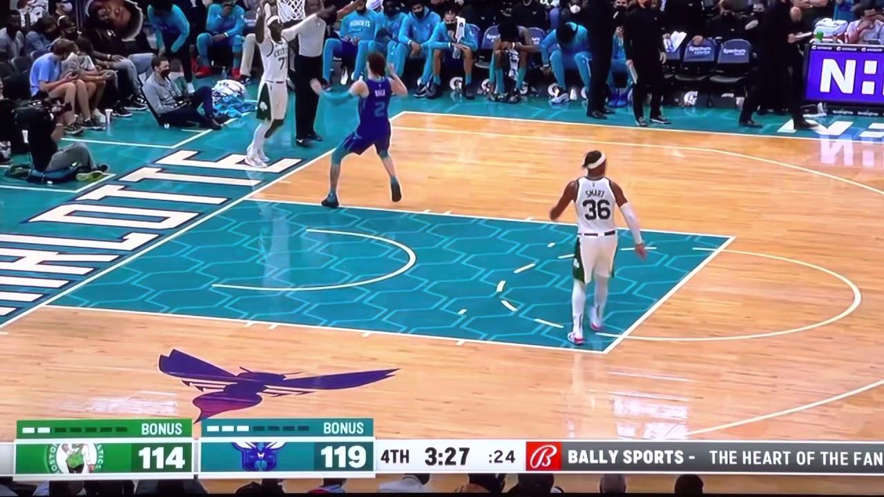 Boston Celtics at Charlotte Hornets Game #4 10/25/21