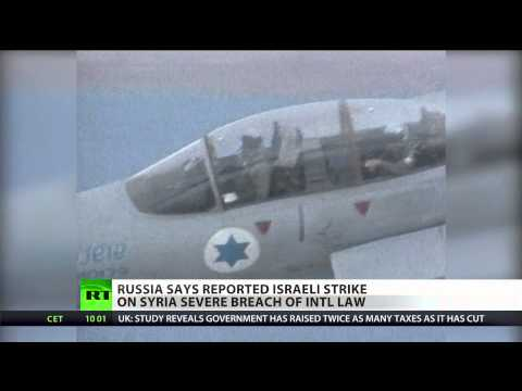 Russia condemns Israeli strike on Syria as attack on sovereign state