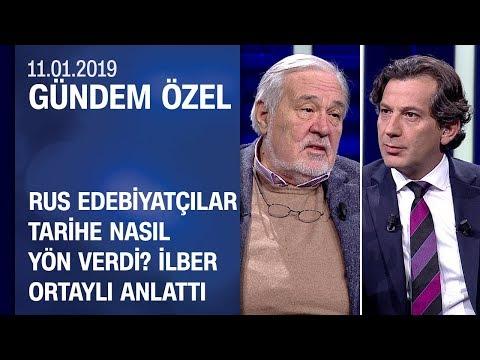 İlber Ortaylı edebiyatın devlerini anlattı - Gündem Özel 11.01.2019 Cuma