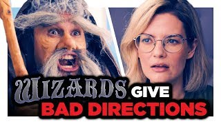 Wizards Give Bad Directions |  CH Shorts