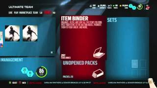 New Ray Lewis And Hines Ward! Live Bundle! 28 Championship Packs! Madden 16 Ultimate Team