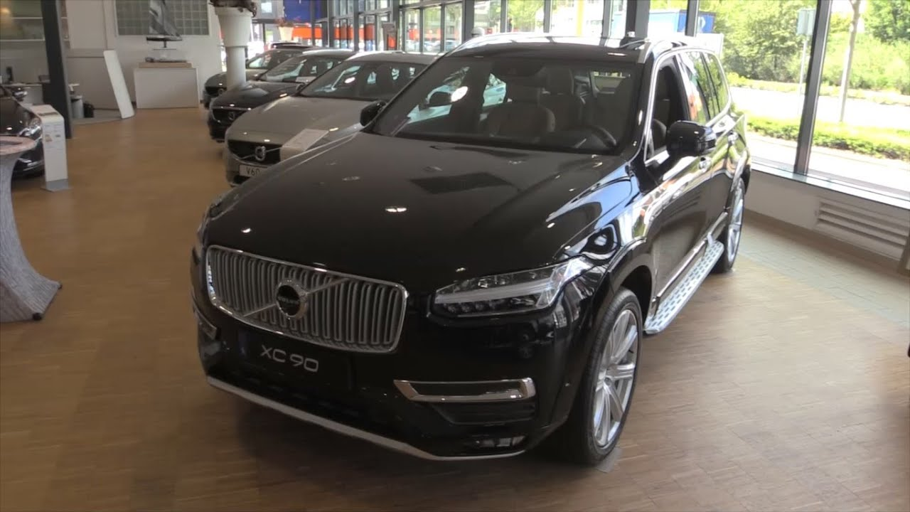 Volvo Xc90 2017 Start Up In Depth Review Interior Exterior Youtube
