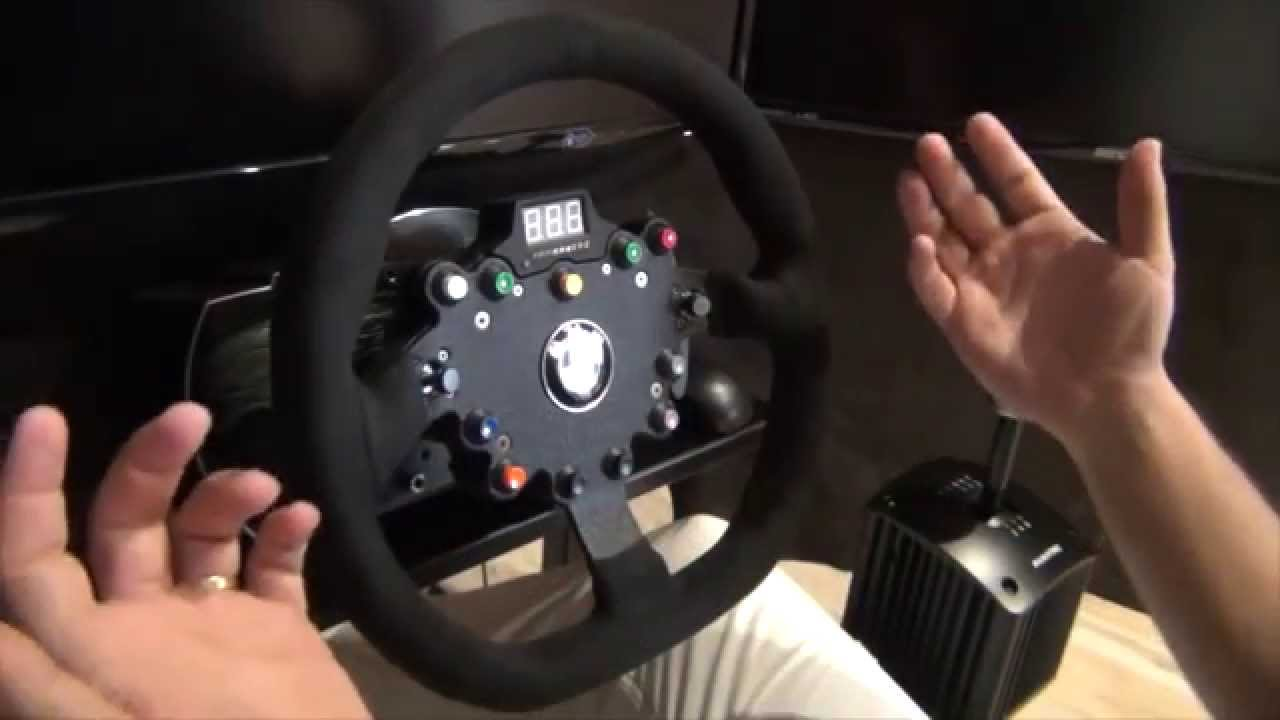 Porsche Steering Wheel >> Review Volantes   Fanatec ClubSport BMW M3 GT2 & Formula ...