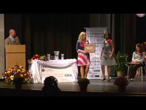 2014 Newton County Teacher of the Year Ceremony