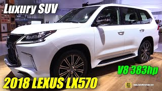 2018 Lexus LX 570 - Exterior and Interior Walkaround - 2017 Frankfurt Auto Show