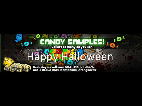 SAS4 - Candy Samples (Happy HALLOWEEN)