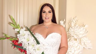 2021 Outlet Bridal Wedding Dress Haul   Ruby Red