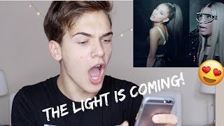 ariana grande   the light is coming ft nicki minaj official music video reaction review