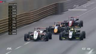 2017 F3 Macau GP - Crazy last laps
