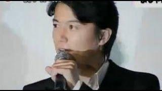 動画 福山雅治・吉高由里子 映画「真夏の方程式」初日舞台挨拶 6月29日 ...