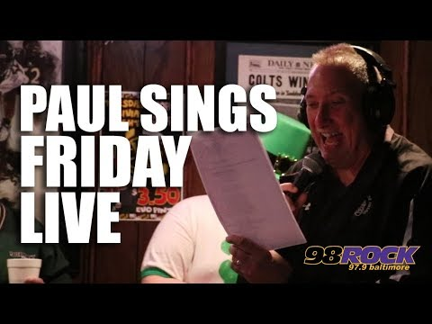 Paul Sings Friday