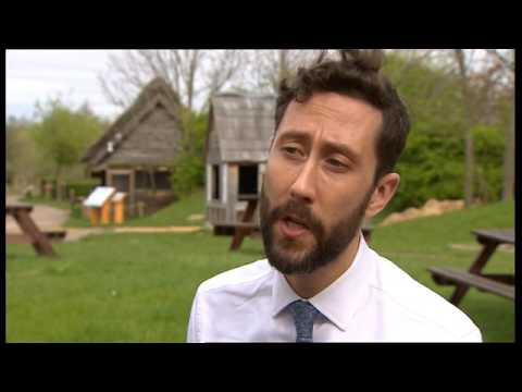 BBC Look North covers Jarrow Hall Anglo-Saxon Farm, Village and Bede Museum