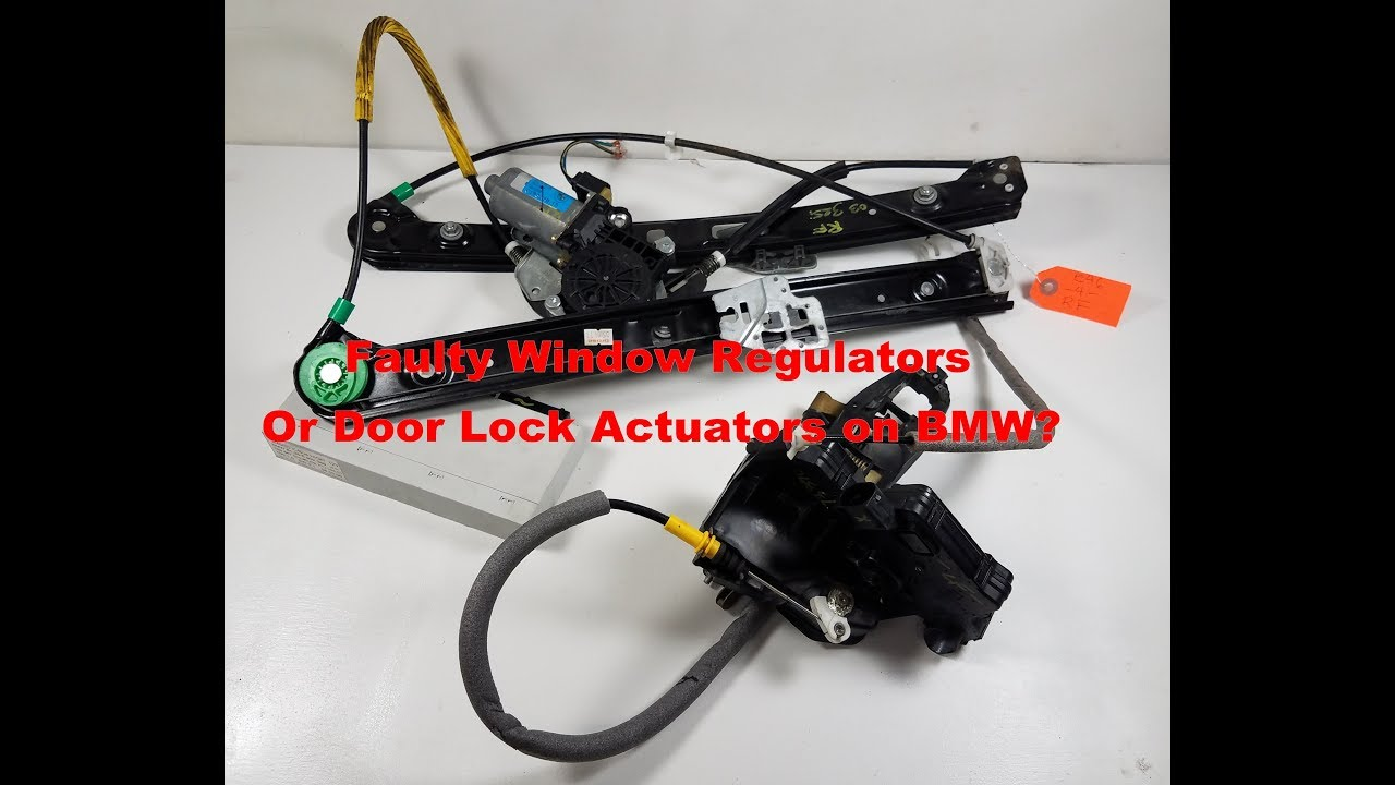 Diagnosing GM Module, Lock Actuators and Window Regulators on BMW E46 330  325