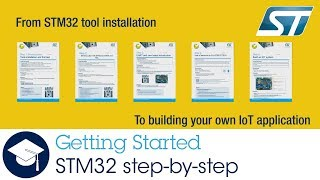 STM32 step by step tutorials to get you building an IoT application fast!