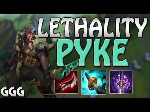 22 KILL LETHALITY PYKE!!! + THE NEW CRIT ITEM STORMRAZOR - League of Legends S8 PBE Top Gameplay thumbnail