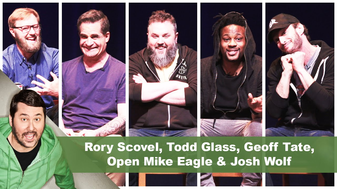 4/20 Show! Rory Scovel, Todd Glass, Geoff Tate, Open Mike Eagle & Josh Wolf | Getting Doug with High