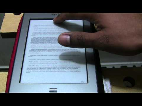 Mini Tutorial: Como Cambiar el Tamaño de Letra en tu Amazon Kindle Touch