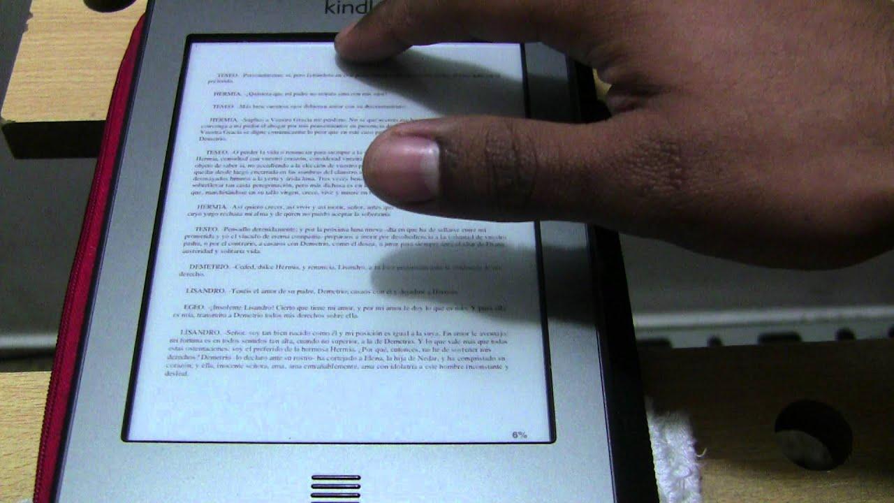 Mini Tutorial: Como Cambiar el Tamaño de Letra en tu Amazon Kindle ...