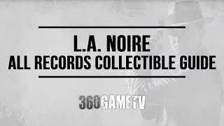 L.A. Noire All Records Collectible Locations Guide - You Found My Tune! Trophy / Achievement Guide