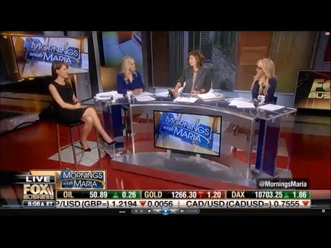 10-21-16 Kat Timpf on Mornings with Maria - Trump vs Hillary at Al Smith Dinner