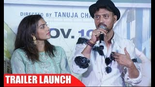Qarib Qarib Single Trailer Launch - Irrfan Khan And Parvathy - UNCUT FULL