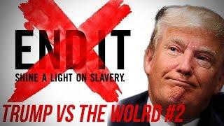 donald trump on human trafficking