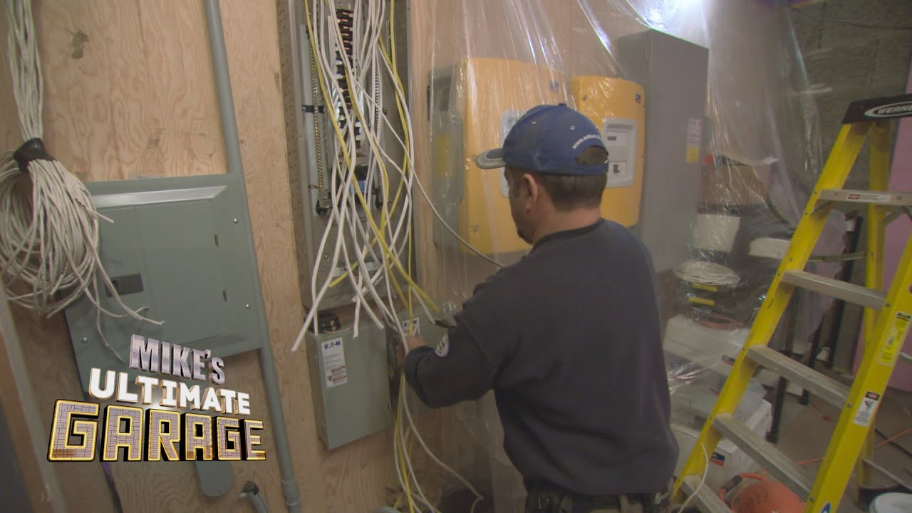 Electrical Mikes Ultimate Garage Inside Look Youtube Heater Wiring Diagram Holmes Get Free Image About