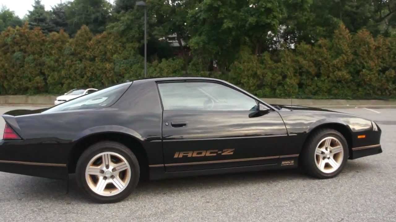 Sold 1988 Chevrolet Iroc Z For Sale 5 7l V8 71000 Miles Rare