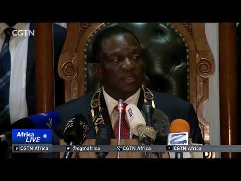 President Emmerson Mnangagwa visits Namibia