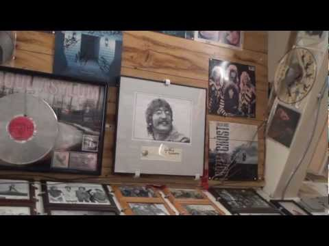 House Of Guitars Rochester NY  Rock & Roll Memorabilia Tour With Armand Schaubroeck 2012