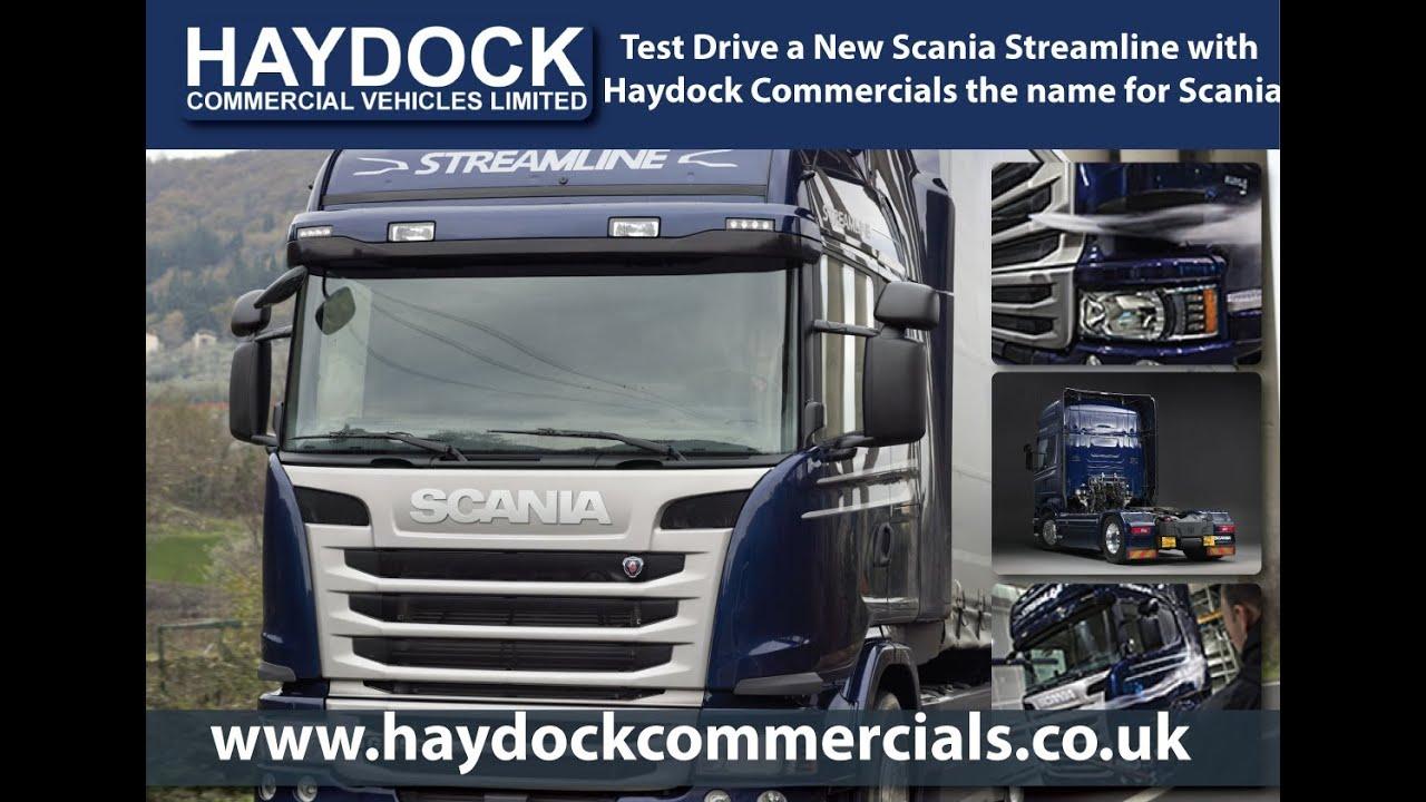Streamline Scania Truck P Series R Series G Series Haydock Commercials Main Scania Dealer