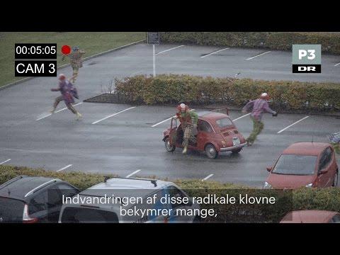 Klovnene er kommet til Danmark   DR P3