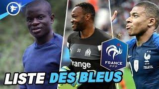 Mbappé, Mandanda, Kanté et Kimpembé de retour en Équipe de France