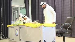 أصبوحة الجيل   الشاعر سلمان بن خالد والشاعر احمد الردعان   الكويت 2018