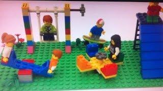 Como construir um parquinho de Lego