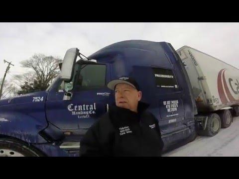 Weekly Trucking Vlog #46-Michigan/Snow/Kansas