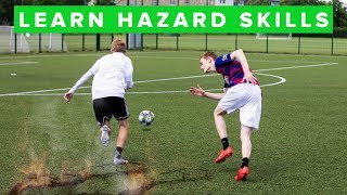 HOW TO DRIBBLE LIKE HAZARD | Learn football skills