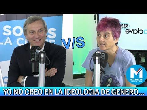 José Antonio Kast vs Feminista Bacheletista Kena Lorenzini