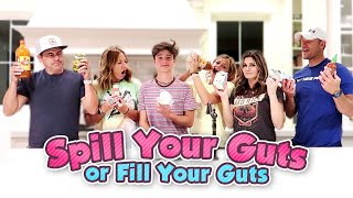 Spill your guts or fill your guts | The LeRoys